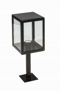Buitenlamp Seoul 1988 vierkant zwart 52cm TuinExtra buitenverlichting showroom