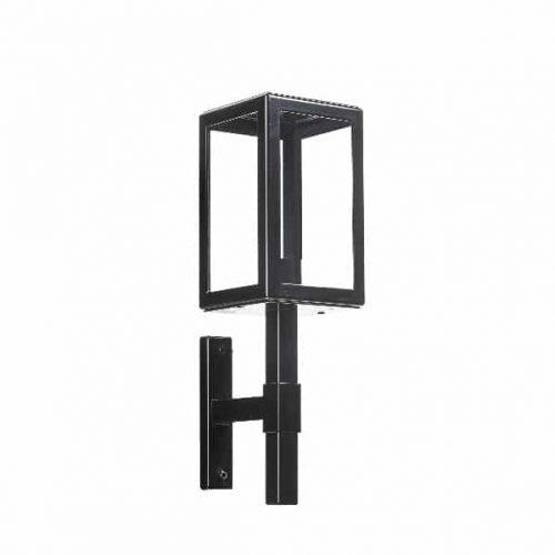 Buitenlamp Parijs 1900 vierkant zwart TuinExtra exclusieve buitenverlichting